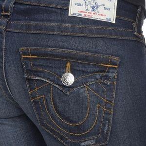 True Religion Blue Moonshine Skinny Jeans
